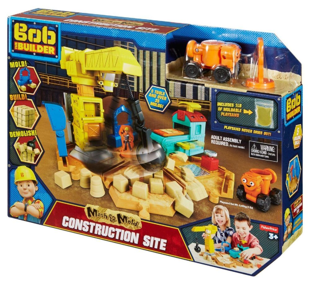 Bob The Builder Mash Amp Mold Construction Site
